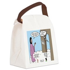 The End of the World Canvas Lunch Bag