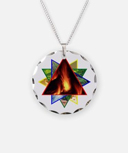 Fire Element Star Necklace