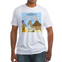 Camel Conundrum Fitted T-Shirt