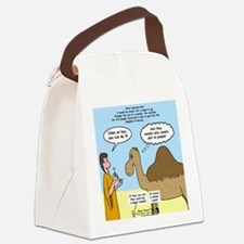 Camel Conundrum Canvas Lunch Bag