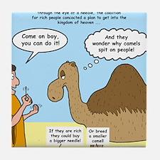 Camel Conundrum Tile Coaster