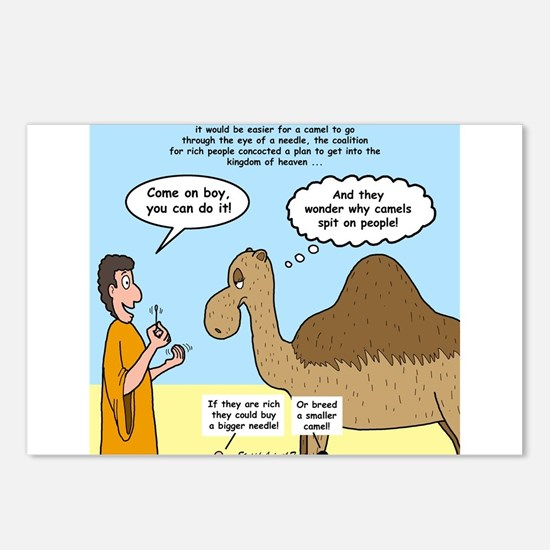 Camel Conundrum Postcards (Package of 8)