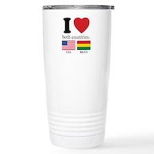 USA-BOLIVIA Travel Mug