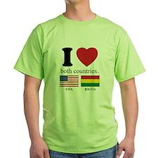 USA-BOLIVIA T-Shirt