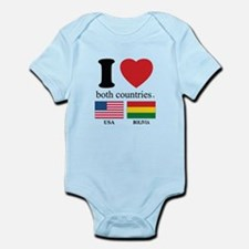 USA-BOLIVIA Infant Bodysuit