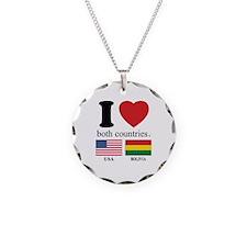 USA-BOLIVIA Necklace