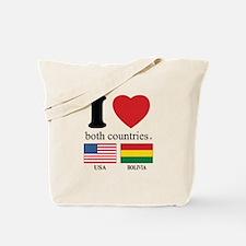 USA-BOLIVIA Tote Bag