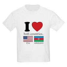 USA-AZERBAIJAN T-Shirt