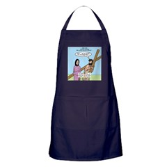 Cross-Carrying Confusion Apron (dark)