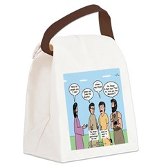 Rumor Mill Canvas Lunch Bag