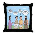 Rumor Mill Throw Pillow