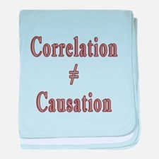 Causation baby blanket