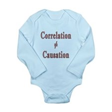 Causation Long Sleeve Infant Bodysuit