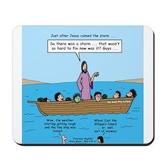 Seasick Anyone? Mousepad