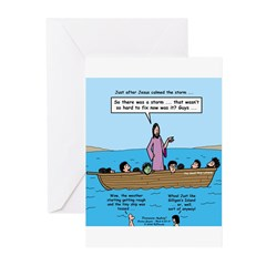 Seasick Anyone? Greeting Cards (Pk of 20)