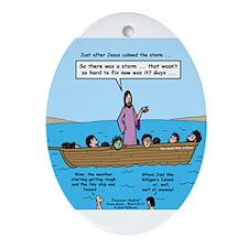 Seasick Anyone? Ornament (Oval)