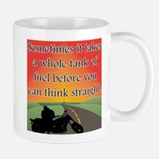 THINK STRAIGHT Mug