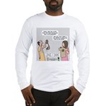 New and Improved Wineskins Long Sleeve T-Shirt
