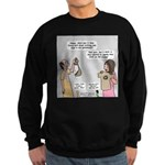 New and Improved Wineskins Sweatshirt (dark)