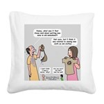 New and Improved Wineskins Square Canvas Pillow
