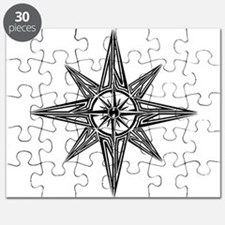 Tribal Compass Rose Puzzle