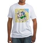 Rooftop Rescue Fitted T-Shirt