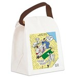 Rooftop Rescue Canvas Lunch Bag