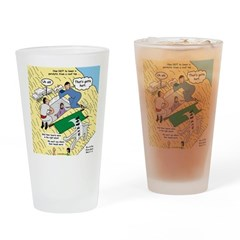 Rooftop Rescue Drinking Glass