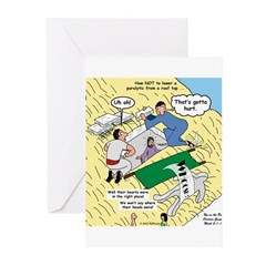 Rooftop Rescue Greeting Cards (Pk of 20)