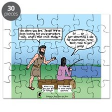 Fishing with Jesus Puzzle