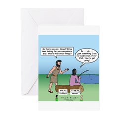 Fishing with Jesus Greeting Cards (Pk of 20)