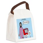 Good News Canvas Lunch Bag