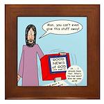 Good News Framed Tile