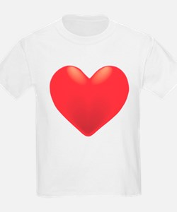 Single Red Heart T-Shirt
