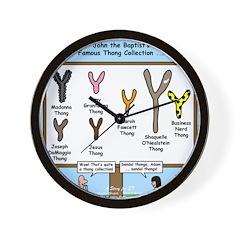 Thong Song Wall Clock