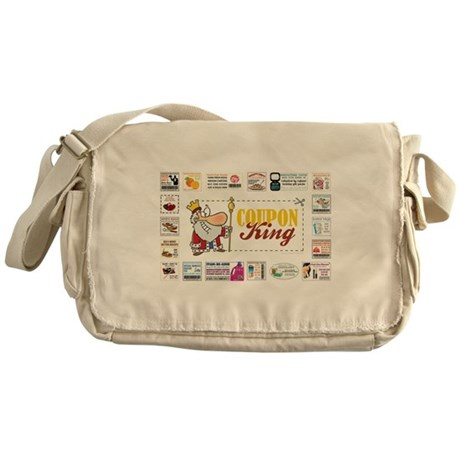 COUPON KING Messenger Bag
