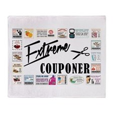 EXTREME COUPONER Throw Blanket