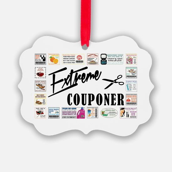 EXTREME COUPONER Ornament