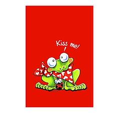 Kiss Me Frog n Bug Postcards (Package of 8)