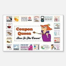 COUPON QUEEN Decal