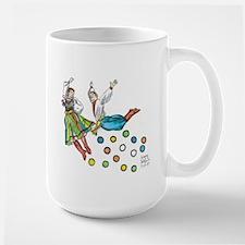 polka dots Large Mug