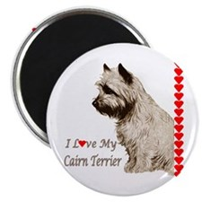 Love My Cairn Magnet