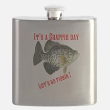 Crappie Day Flask