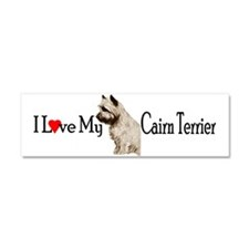 Love My Cairn Car Magnet 10 x 3