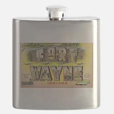 Fort Wayne, Indiana Flask