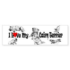 Love My Cairn Bumper Sticker