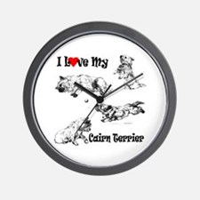 Love My Cairn Wall Clock