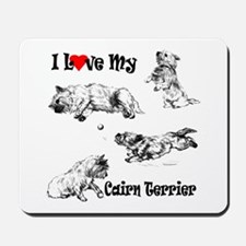 Love My Cairn Mousepad
