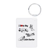 Love My Cairn Keychains