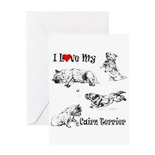Love My Cairn Greeting Card